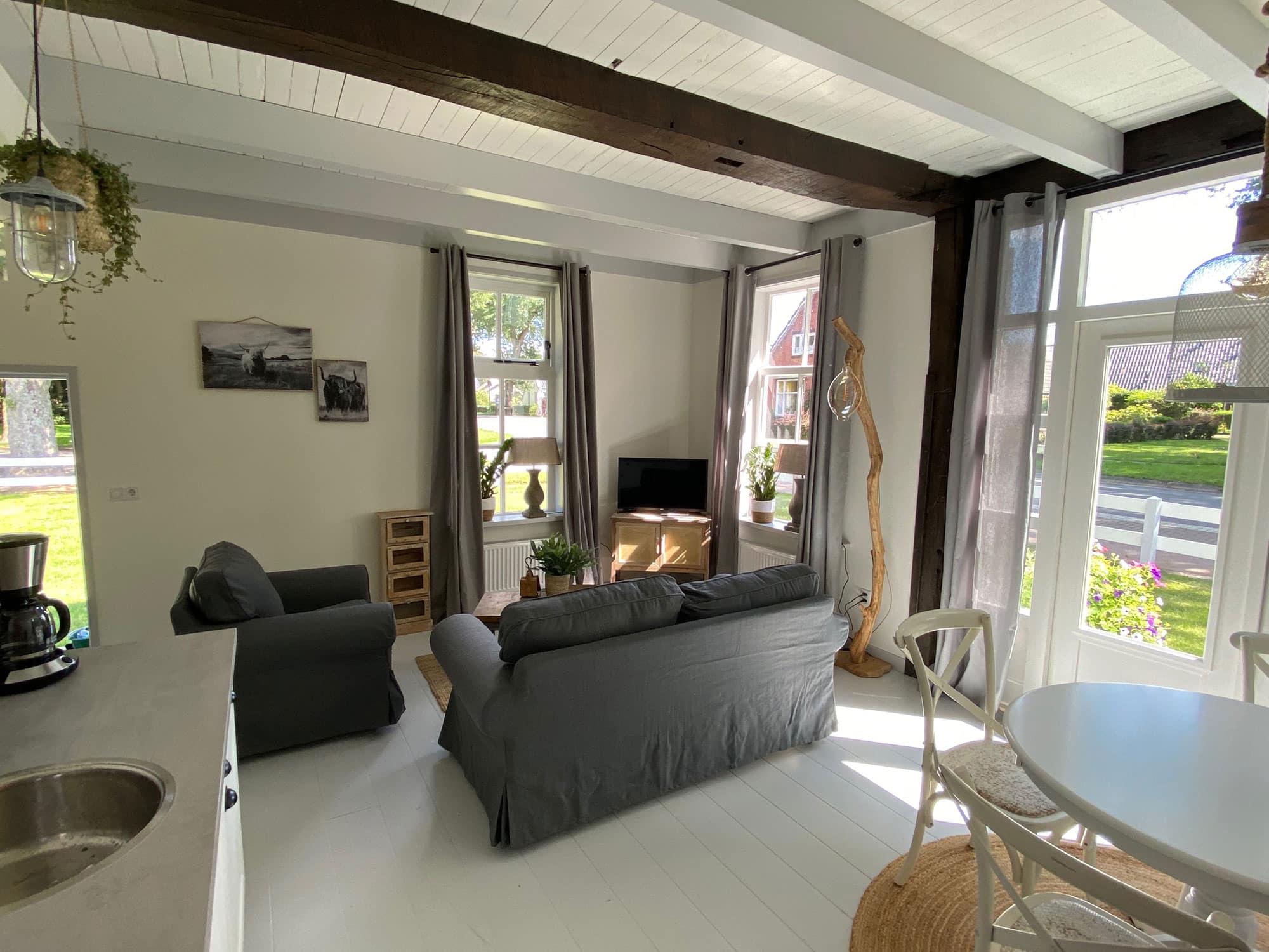Appartement Hoorn woonkamer