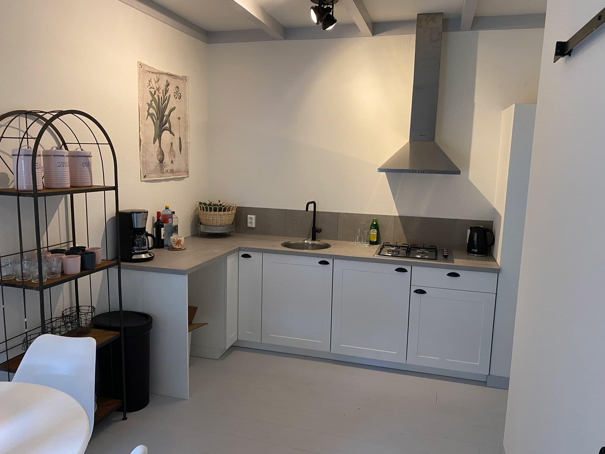 Keuken appartement Ode