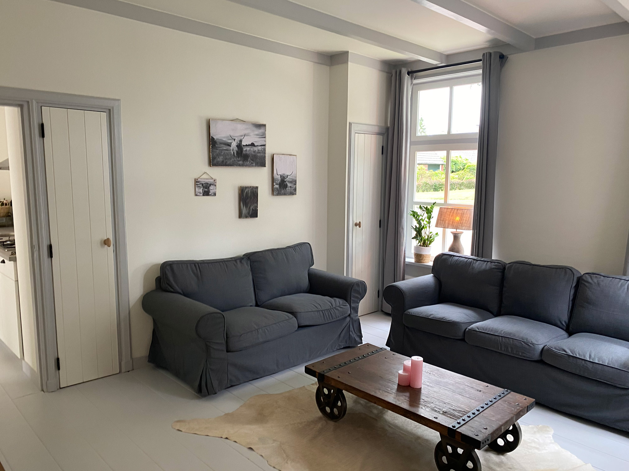 Woonkamer appartement Ode